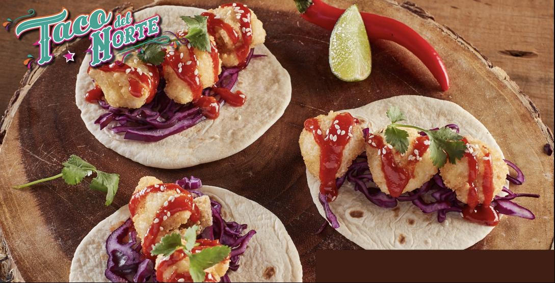 Taco del Norte Cauliflower Tacos